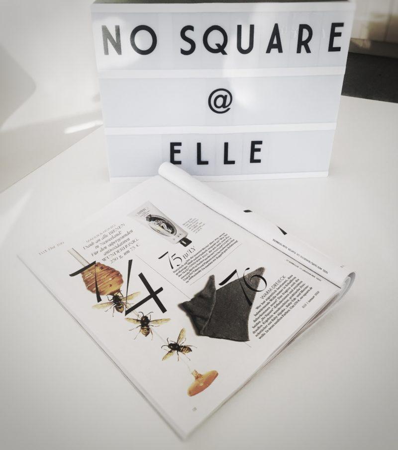 No Square Dreieckstuch